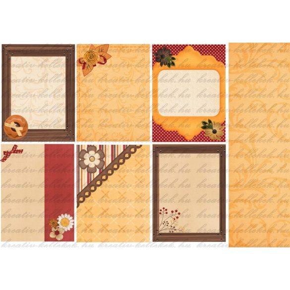 Komment kártyák 2 őszi csomaghoz