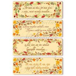 Őszi kártyák idézetekkel