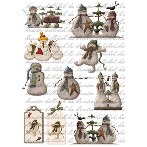 Különleges hóemberkék