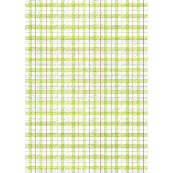 Zöld-fehér kockás 2