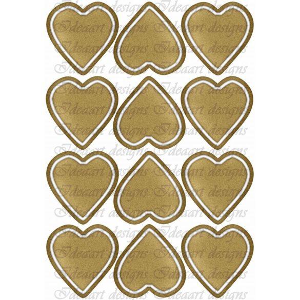 Mézeskalács szívek