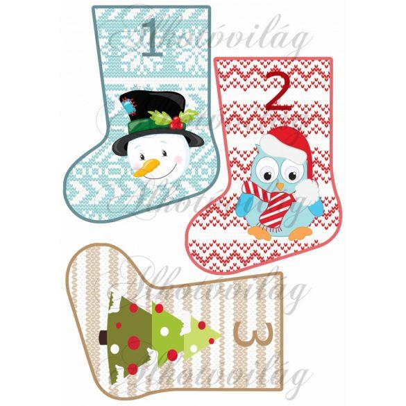 Karácsonyi zoknik