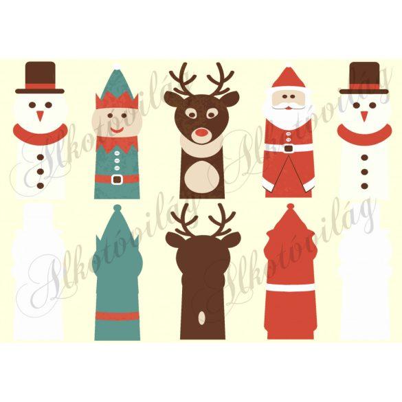 Ujjbábok - karácsonyi