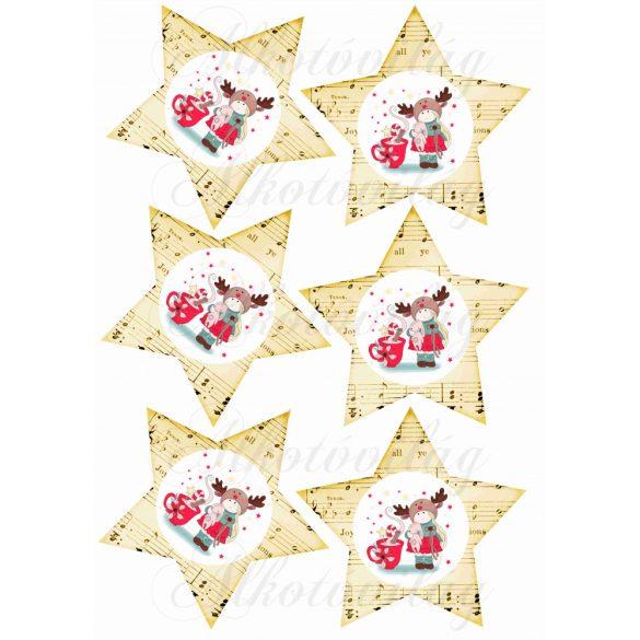 Kottás csillagok kislányokkal