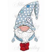 Kék karácsonyi manó