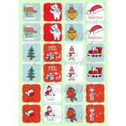 Memóriakártya karácsonyi