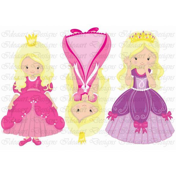 Szépséges szőke hercegnők