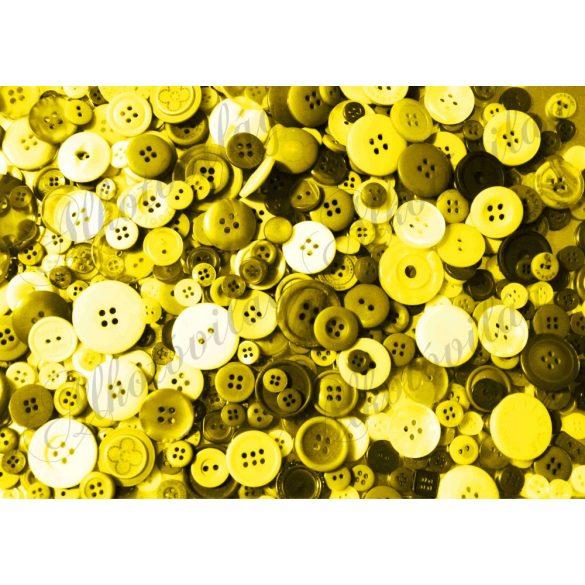 Kerek gombok sárga színekkel