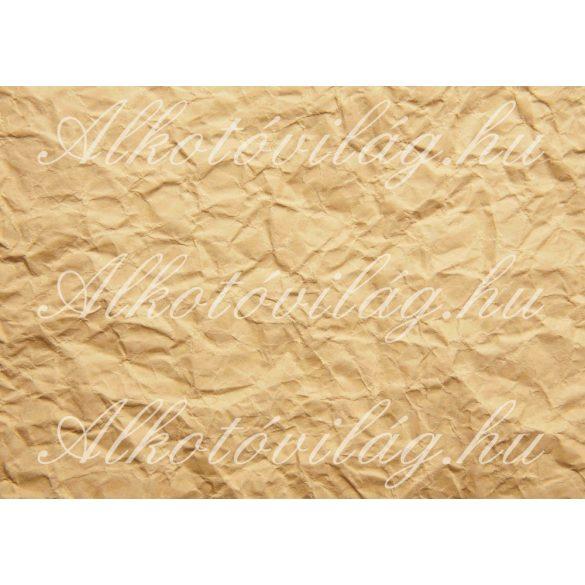 Gyűrött papír szépiában