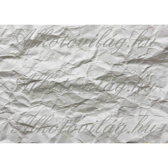 Gyűrött papír szürkés árnyalatban