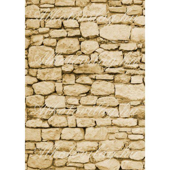 Kövek textúra barnás színben