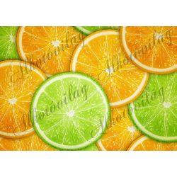 Gyümölcsös csomag: narancs és lime