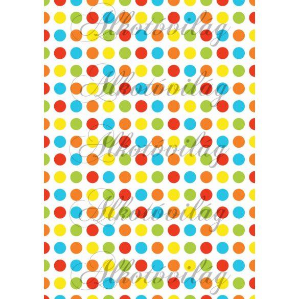 Iskolakezdés csomag: színes pöttyök