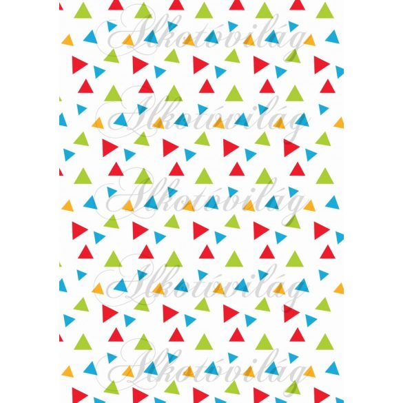 Iskolakezdés csomag majmokkal: színes háromszögek