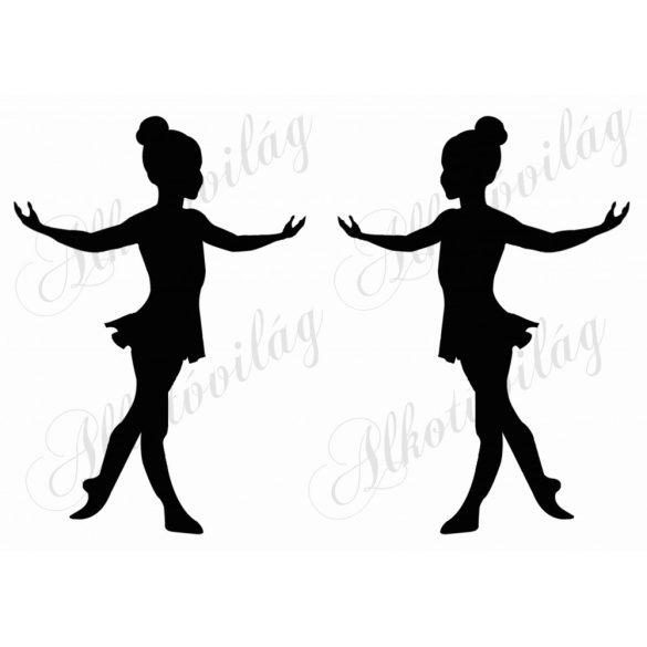 Balerina lánykák 2 db A5