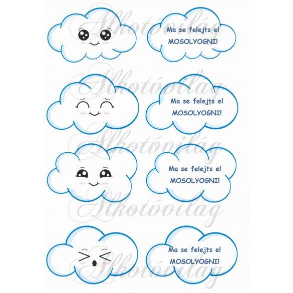 Felhőcskék FELIRATTAL