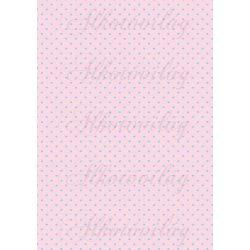 Kék apró szívek pasztell rózsaszín alapon