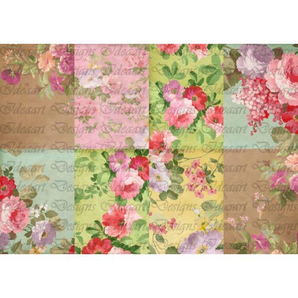 Nyári virágeső - kártyák