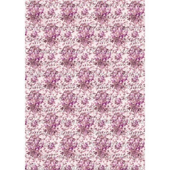 Rózsás háttér 2 lilában