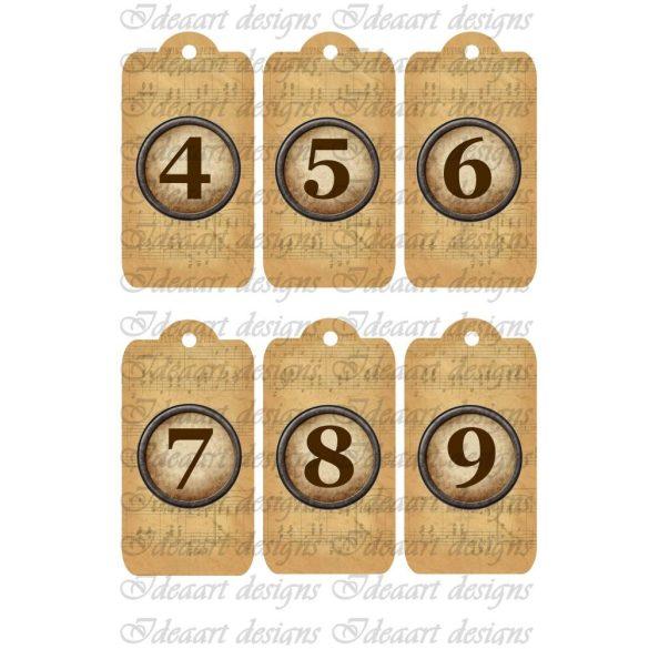 Öröknaptár számok