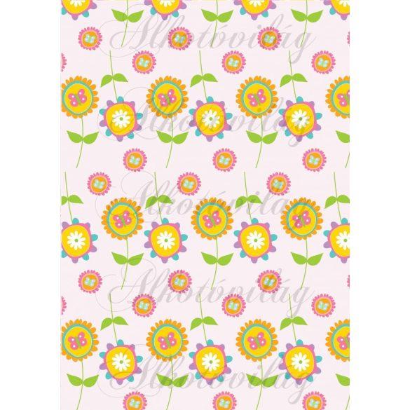 Tavaszi baglyos csomag: bohókás virágok