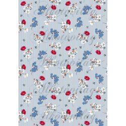 Piros-kék-fehér vigárok kék-fehér csíkos alapon
