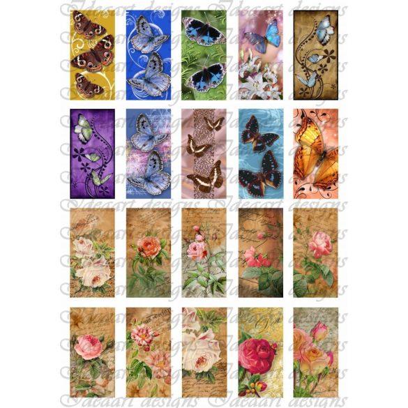 Pillangók tánca a rózsaligetben