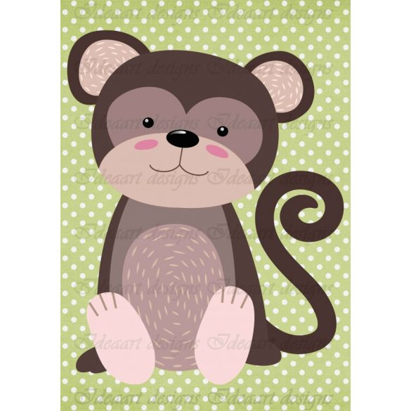 Állatsereg A4- majom