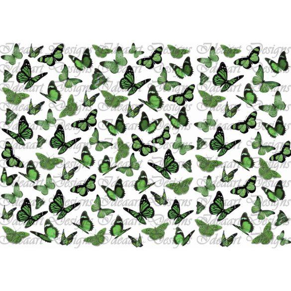Pillangók zöldben