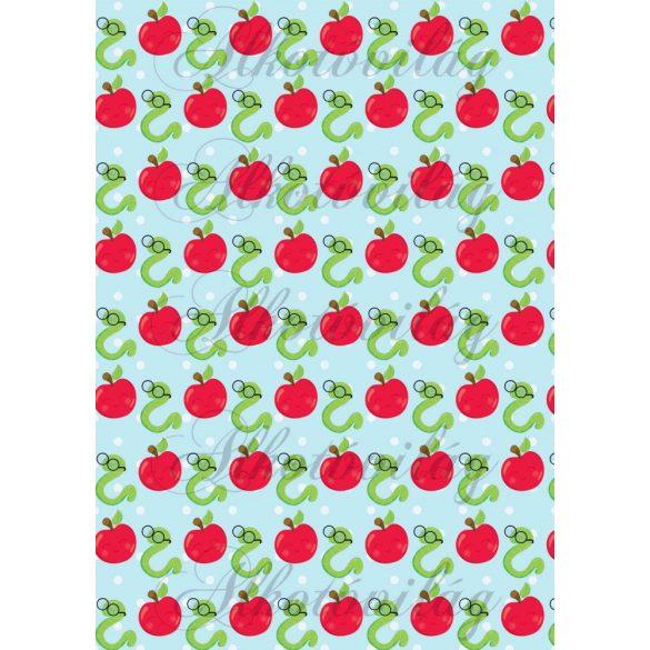 Iskolakezdés csomag: kukacok almákkal