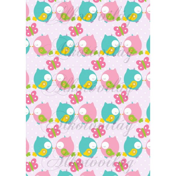 Tavaszi baglyos csomag: szerelmes madárkák