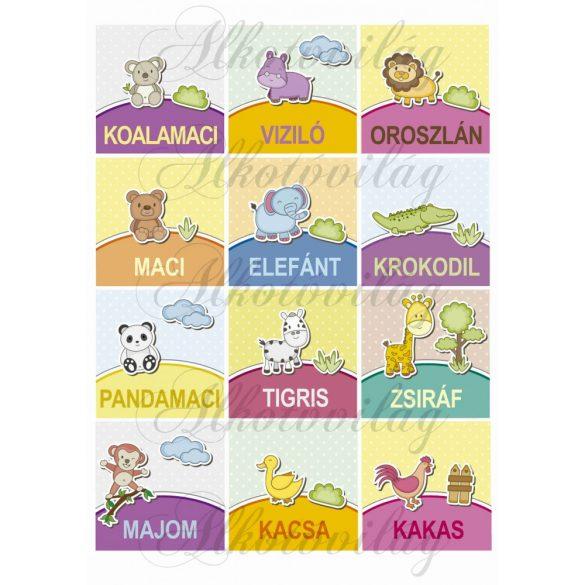 Állatos kártyák