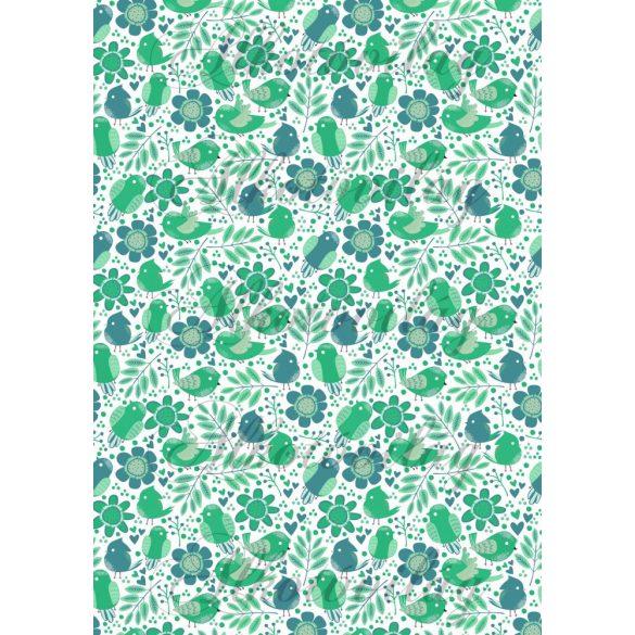 Zöld kismadarak