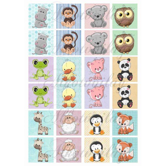 Memóriakártya cuki állatkákkal