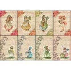 Kislányos kártyák