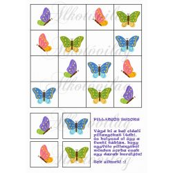 Pillangós sudoku