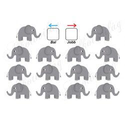 Segíts a elefántoknak tájékozódni
