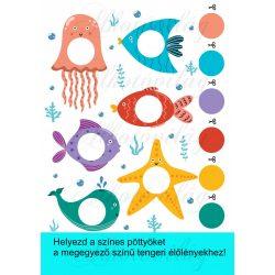 Színpárosító tengeri élőlényekkel