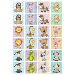 Memóriakártya cuki állatkákkal 2