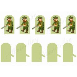 Ujjbábok- vadász csapat