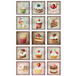 Muffinok négyzetben