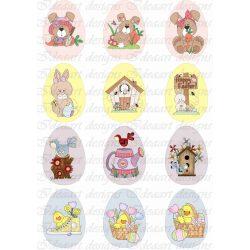 Húsvéti tojások vegyesen