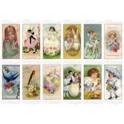 Húsvéti mini kártyák