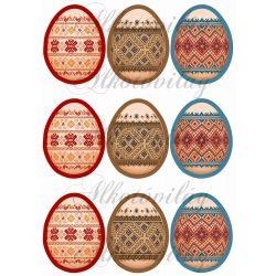 Folklór stílusú tojások
