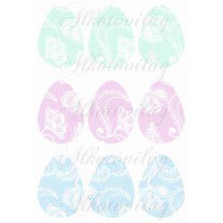 Csipkés tojások