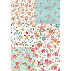 Tavaszi patchwork blokkok