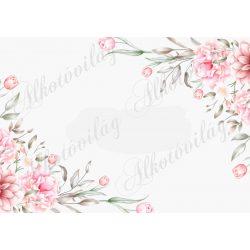 Fotóháttér pasztell rózsaszín árnyalatban termékfotózáshoz