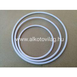 Műanyag fehér karika 15 cm