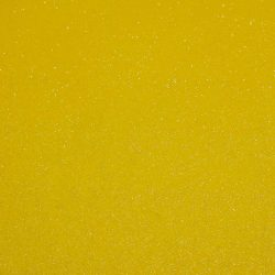 Csillámos filc anyag - 20x30 cm - CITROMSÁRGA