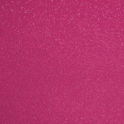 Csillámos filc anyag - 20x30 cm - PINK